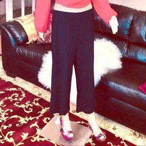 Women's Black  polyester spandex dress pants